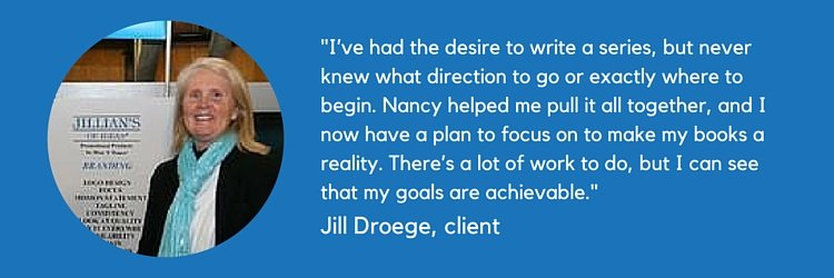 non-fiction book writing coach jill droege testimonials online book coach online book writing coach