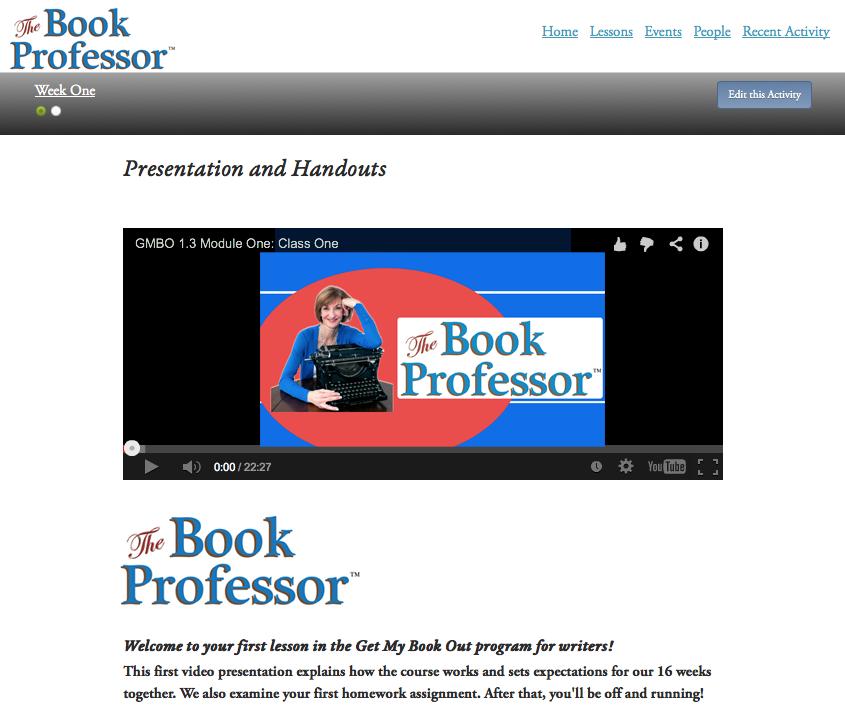 The Book Professor