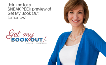 Get A SNEAK PEEK Of Get My Book Out! TOMORROW At 2 Pm CST!