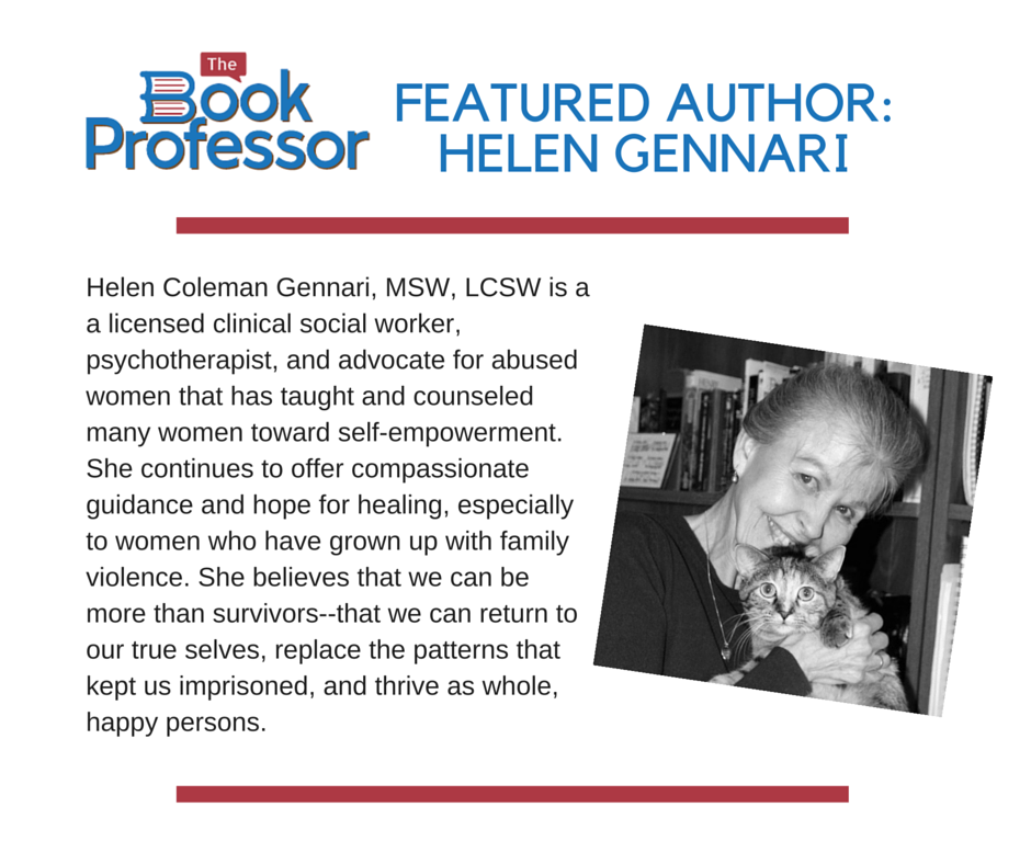 Helen Gennari is this month's Featured Author that recently celebrated with her book launch party for From The Heart of an Abandoned Daughter