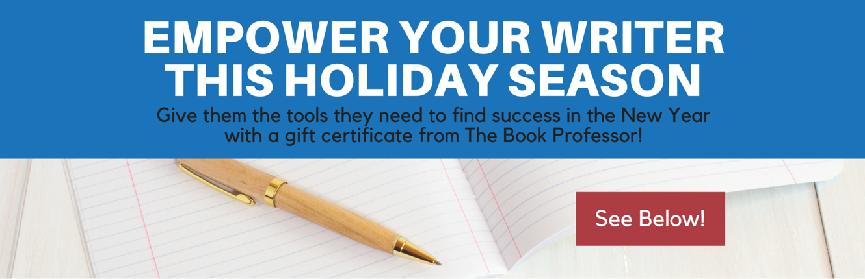 Website Slider - The Book Professor Holiday Gift Certificate
