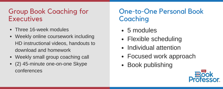 Group Book Coaching for Executives vs One on One Coaching