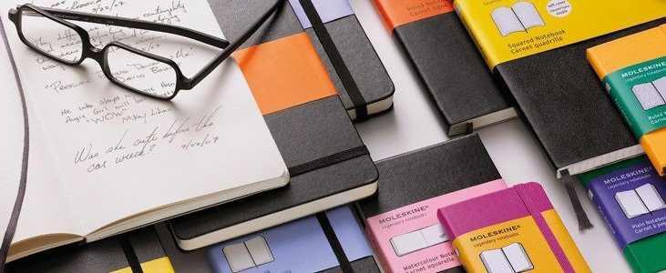 2015 Writer's Gift Guide - The Book Professor - Moleskine Notebooks for writers