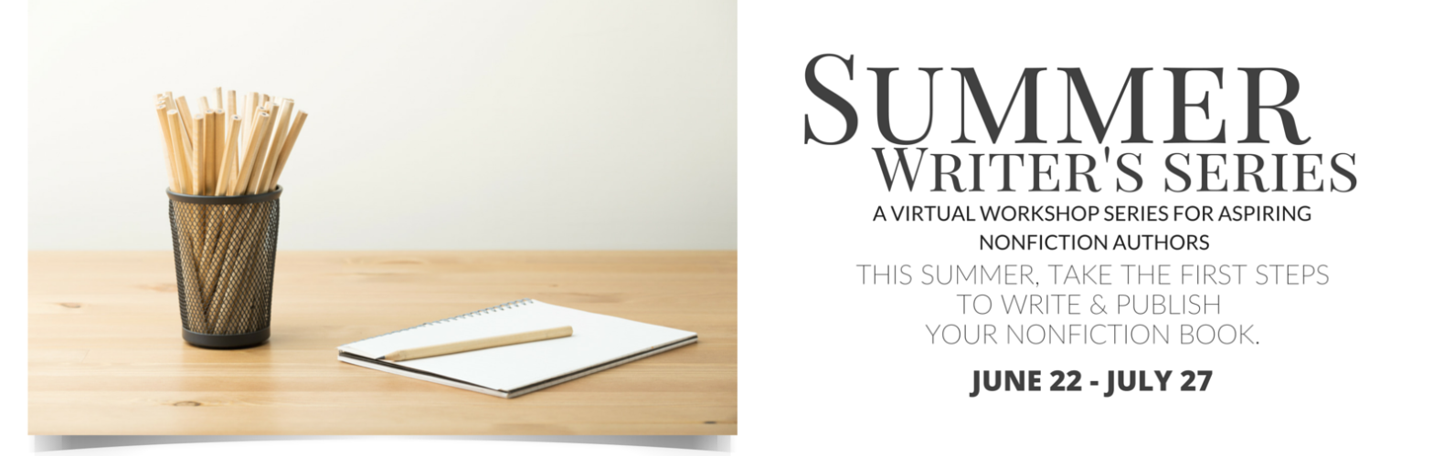 summer writing Summer Writer's Series-nonfiction book writing group class