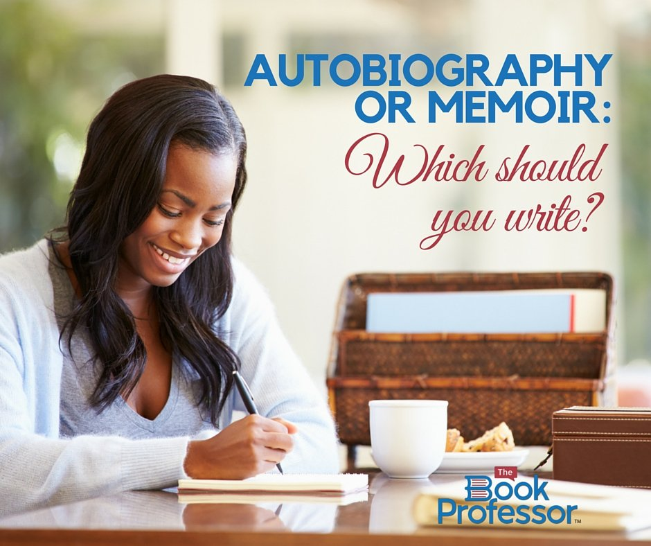 autobiography vs memoir book coach which should i write