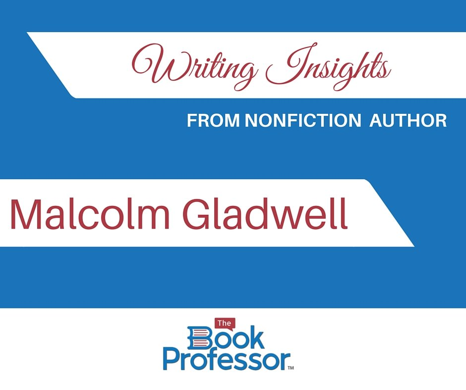 nonfiction author malcolm gladwell