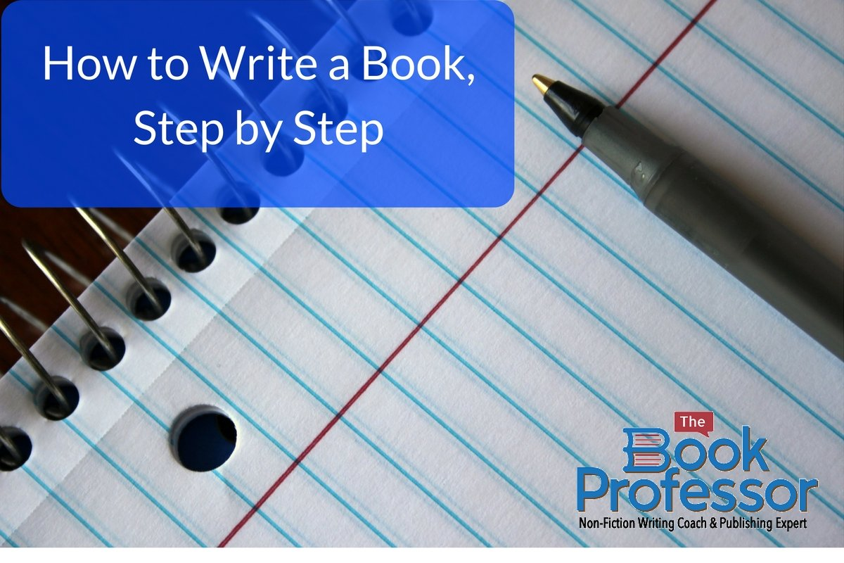 first step to writing a book