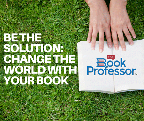 change the world with a book write a book