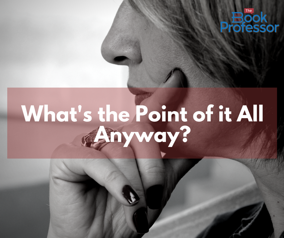 Thoughts from a Writing Coach Online:  What's The Point of It All Anyway?