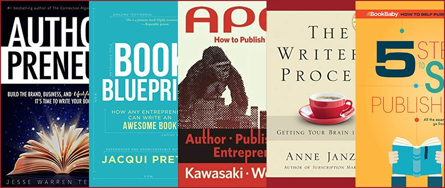 Five Books Every Entrepreneur Writing a Book Should Read