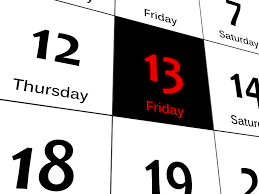 It's Friday the 13th-Push Past the Fear and Live