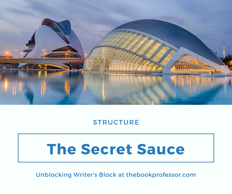 Overcoming Writer's Block Part 4: Structure Is the Secret Sauce