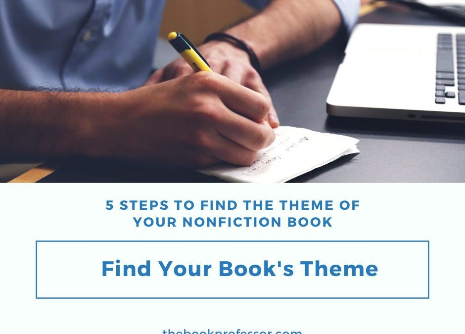 Five Steps to Find the Theme of Your Nonfiction Book