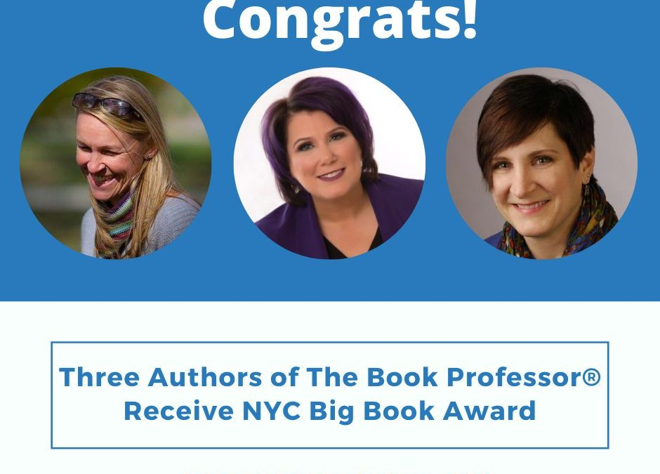 Three Authors of The Book Professor® Receive NYC Big Book Award