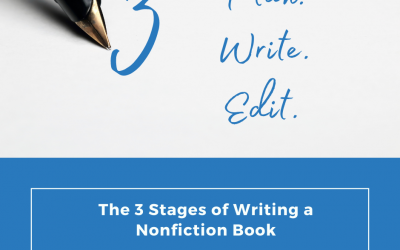 The 3 Stages of Writing a Nonfiction Book