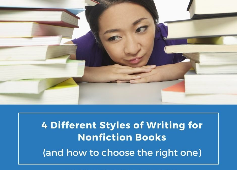4 Different Styles of Writing for Nonfiction Books